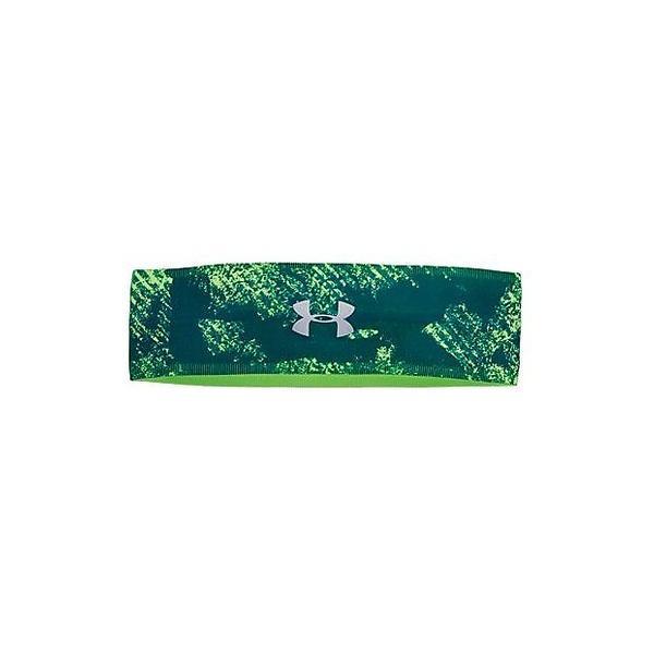 (セール)UNDER ARMOUR(アンダーアーマー)スポーツアクセサリー その他バッグ UA PERFECT HEADBAND 2.0 1291067 919 レディース ONESIZE ARDEN GREEN/QUIRKY LIME/METALLIC SILVER