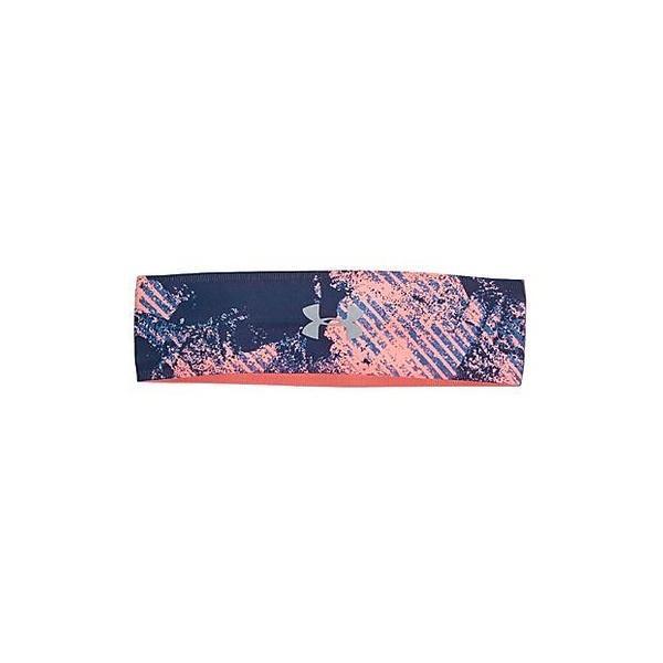 (セール)UNDER ARMOUR(アンダーアーマー)スポーツアクセサリー その他バッグ UA PERFECT HEADBAND 2.0 1291067 953 レディース ONESIZE BAYOU BLUE/PINK SANDS/METALLIC SILVER