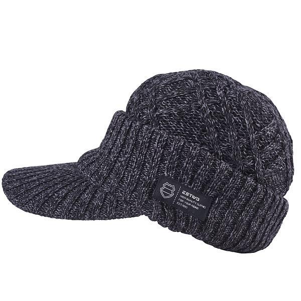 (セール)ESTIVO(エスティボ)ウインター ビーニー ニット帽子 ヘッドアクセ EV DIAMOND KNIT OS EVA7702 F K
