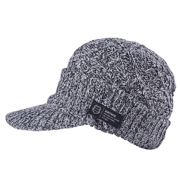 (セール)ESTIVO(エスティボ)ウインター ビーニー ニット帽子 ヘッドアクセ EV DIAMOND KNIT OS EVA7702 F MC