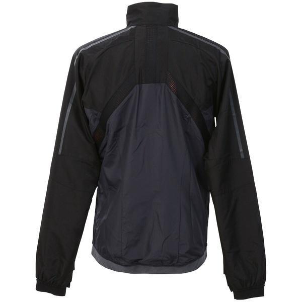 (送料無料)PUMA(プーマ)サッカー ウォームアップ EVOTRG ベントサーモ-R ジャケット 65551006 メンズ ブラック/エボニー/ファイアリー コーラル