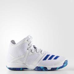 (セール)adidas(アディダス)バスケットボール ジュニア シューズ SPG K CDO82 CG4313 ボーイズ ランニングホワイト/カレッジロイヤル/エナジーブルー S17