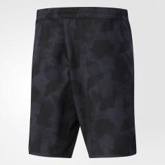 adidas(アディダス)テニス バドミントン ショーツ MENS CLUB グラフィックハーフパンツ DJF14 BS0140 メンズ ブラック
