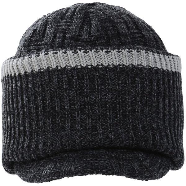 (セール)Phenix(フェニックス)ウインター ビーニー ニット帽子 ヘッドアクセ BLIZZARD 2-WAY BRIM WATCH CAP PS778HW36 メンズ F BK