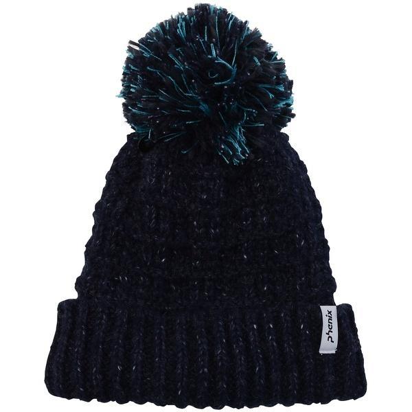 (セール)Phenix(フェニックス)ウインター ビーニー ニット帽子 ヘッドアクセ POMPOM WATCH CAP PS688HW62 レディース F NV2