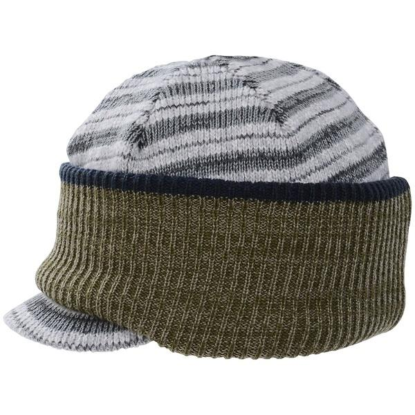 Phenix(フェニックス)ウインター ジュニア帽子 ヘッドアクセ TRICK 2-WAY BOYS BRIM CAP PS7G8HW83 ボーイズ JF GR