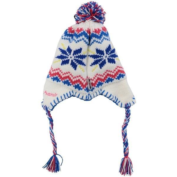 Phenix(フェニックス)ウインター ジュニア帽子 ヘッドアクセ SNOW CRYSTAL GIRLS EARFLAP BEANIE PS7H8HW94 ガールズ JF WT