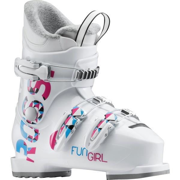 (セール)(送料無料)ROSSIGNOL(ロシニュール)ウインター ジュニアスキー関連 FUN GIRL J3 - WHITE RBG5130-H ガールズ