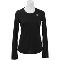 (セール)New Balance(ニューバランス)ランニング レディース長袖Tシャツ W アクセレレイトロングスリーブTシャツ WT73132BK レディース ブラック