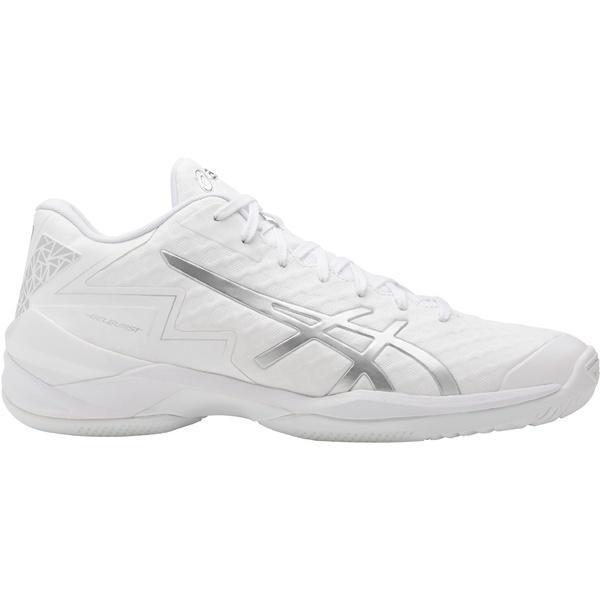 (送料無料)ASICS(アシックス)バスケットボール シューズ GELBURST 21 Z TBF338.0193 ホワイト/シルバ-