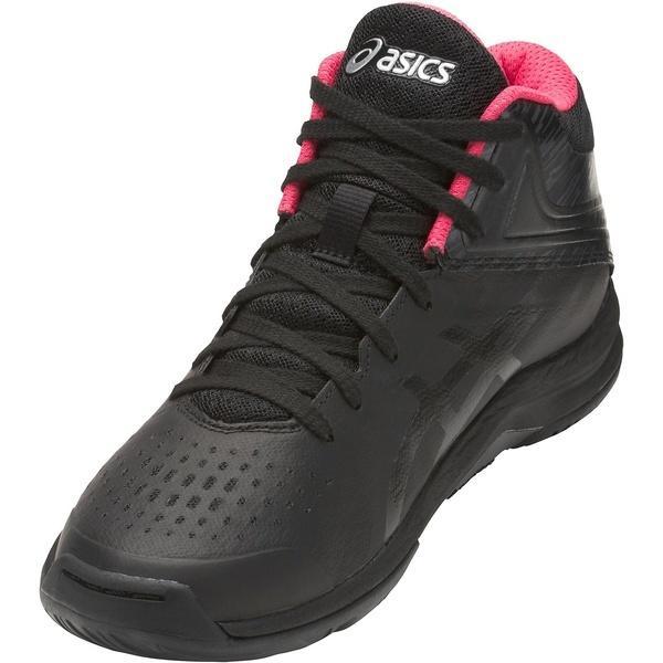 (送料無料)ASICS(アシックス)バスケットボール ジュニア シューズ LADY GELFAIRY 8 TBF403.9090 レディース ブラツク/K