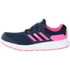 adidas(アディダス)ランニング レディースジョギングシューズ GALAXY 3 WIDE DB0021 レディース COLLEGIATE NAVY/SHOCK PINK
