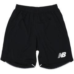 New Balance(ニューバランス)サッカー ジュニアウォームアップ ハーフパンツ プラクティス ニットショーツ JJPF7845BK ボーイズ ブラック