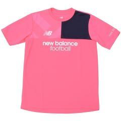 New Balance(ニューバランス)サッカー ジュニア半袖プラクティスシャツ プラクティスシャツ JJTF7844AKK ボーイズ アルファピンク
