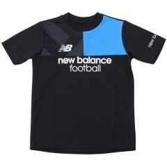 New Balance(ニューバランス)サッカー ジュニア半袖プラクティスシャツ プラクティスシャツ JJTF7844BK ボーイズ ブラック