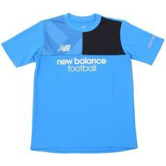 New Balance(ニューバランス)サッカー ジュニア半袖プラクティスシャツ プラクティスシャツ JJTF7844BTL ボーイズ ボルト