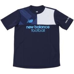 New Balance(ニューバランス)サッカー ジュニア半袖プラクティスシャツ プラクティスシャツ JJTF7844NV ボーイズ ネイビー