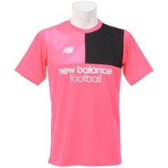 New Balance(ニューバランス)サッカー 半袖プラクティスシャツ プラクティスシャツ JMTF7812AKK メンズ アルファピンク