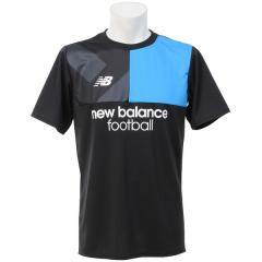 New Balance(ニューバランス)サッカー 半袖プラクティスシャツ プラクティスシャツ JMTF7812BK メンズ ブラック