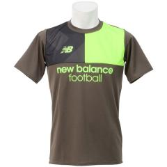 New Balance(ニューバランス)サッカー 半袖プラクティスシャツ プラクティスシャツ JMTF7812MKG メンズ ミリタリーダーク トリンプグリーン