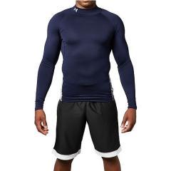 (送料無料)UNDER ARMOUR(アンダーアーマー)サッカー インナーシャツ UA COLDGEAR ARMOUR LS MOCK 1305944 メンズ MDN