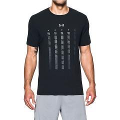 (セール)UNDER ARMOUR(アンダーアーマー)野球 半袖Tシャツ UA HEATER 5 STAR S/S T 1302245 メンズ BLACK/SILVER