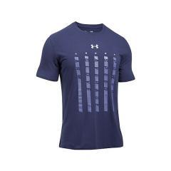 (セール)UNDER ARMOUR(アンダーアーマー)野球 半袖Tシャツ UA HEATER 5 STAR S/S T 1302245 メンズ MIDNIGHT NAVY/SILVER