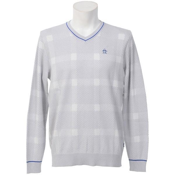 (送料無料)Munsingwear(マンシングウェア)ゴルフ その他トップス セーター JWMK400 メンズ N762