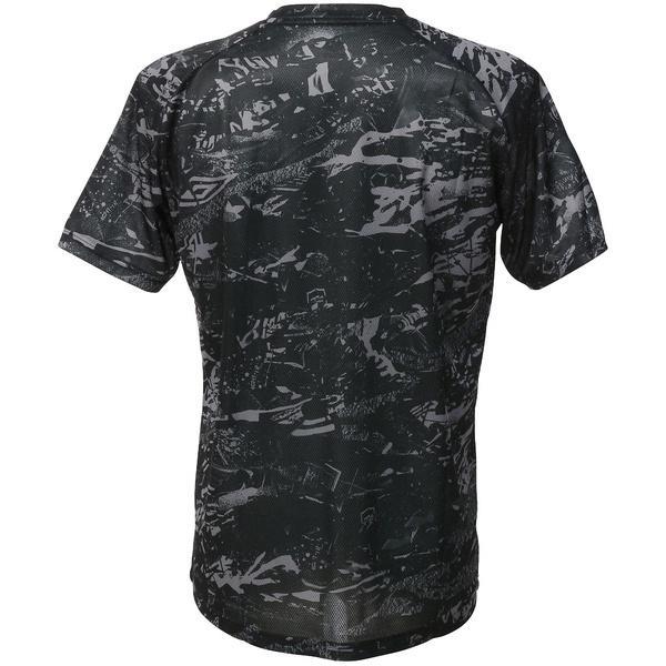 (セール)UMBRO(アンブロ)サッカー 半袖プラクティスシャツ GACH1 コンセプトS/Sシャツ UBA7738 BLK メンズ BLK