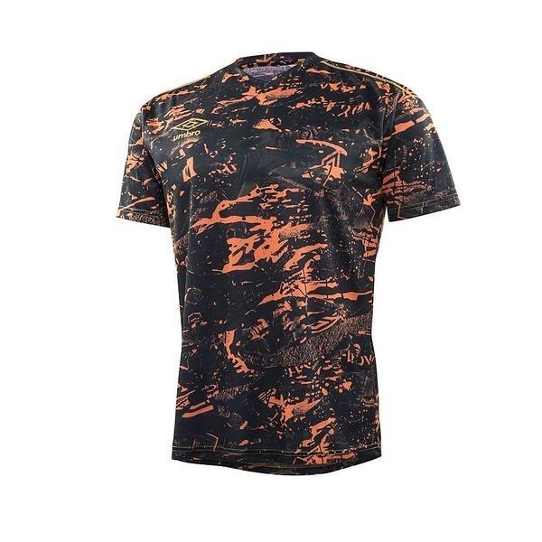 (セール)UMBRO(アンブロ)サッカー 半袖プラクティスシャツ GACH1 コンセプトS/Sシャツ UBA7738 FORG メンズ FORG