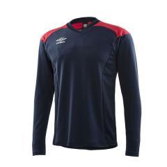UMBRO(アンブロ)サッカー ジュニアインナーシャツ JR.FLEXUM-PP L/Sシャツ UBA9745JL NVY ボーイズ NVY