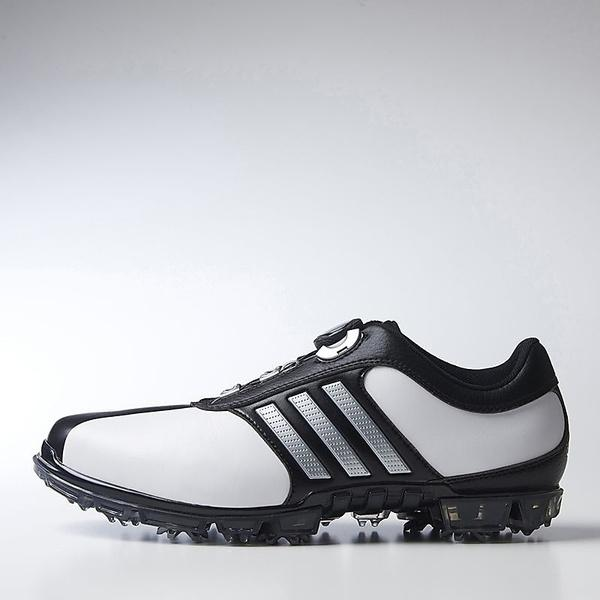 (送料無料)adidas(アディダス)ゴルフ メンズゴルフシューズ ピュアメタル ボア プラス WI941-Q44896 メンズ ホワイト/シルバーメタリック/コアブラック