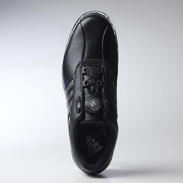 (送料無料)adidas(アディダス)ゴルフ メンズゴルフシューズ ピュアメタル ボア プラス WI941-Q44898 メンズ コアブラック/ダークシルバーメタリック/コアブラック