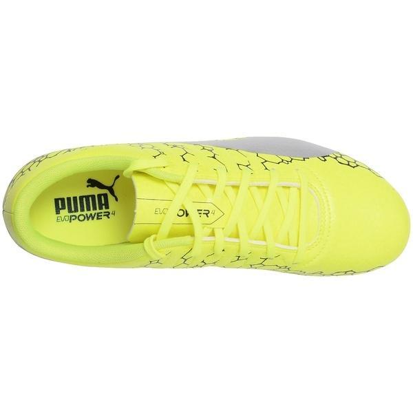 (セール)PUMA(プーマ)サッカー スパイク エヴォパワー VIGOR 4 グラフィック 10442402 メンズ セーフティ イエロー/シルバー/ブルー デプス