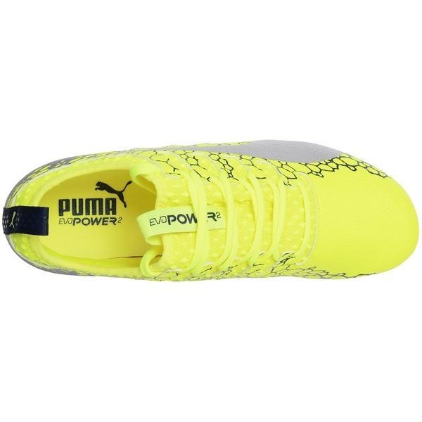 (セール)(送料無料)PUMA(プーマ)サッカー スパイク エヴォパワー VIGOR 2 グラフィック 10445202 メンズ セーフティ イエロー/シルバー/ブルー デプス