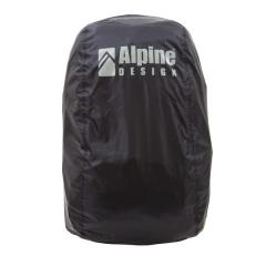Alpine DESIGN(アルパインデザイン)トレッキング アウトドア ザックカバー ザックカバー(20L-30L)AD-Y18-401-003 BLK 20L-30L ブラック