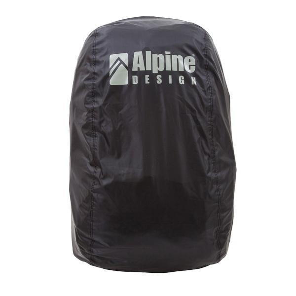 Alpine DESIGN(アルパインデザイン)トレッキング アウトドア ザックカバー ザックカバー(30L-40L)AD-Y18-401-004 BLK 30L-40L ブラック