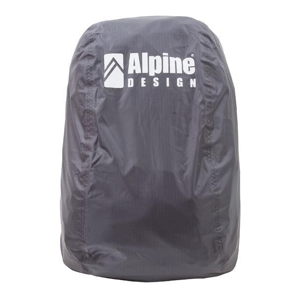 Alpine DESIGN(アルパインデザイン)トレッキング アウトドア ザックカバー ザックカバー(40L-50L)AD-Y18-401-005 CHA 40L-50L チャコールグレー