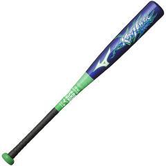(送料無料)MIZUNO(ミズノ)野球 少年軟式メタルバッド KING HITTER 1CJFY11172 2735 メンズ ブルーxグリーン