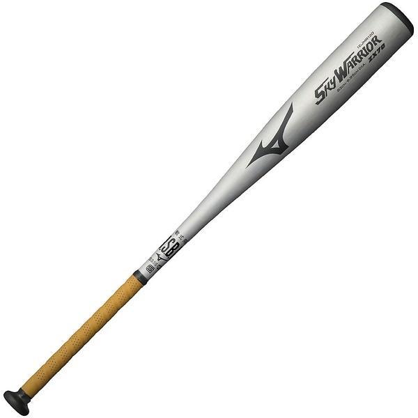 (送料無料)MIZUNO(ミズノ)野球 軟式メタルバッド SKY WARRIOR 1CJMR13083 03 メンズ シルバー