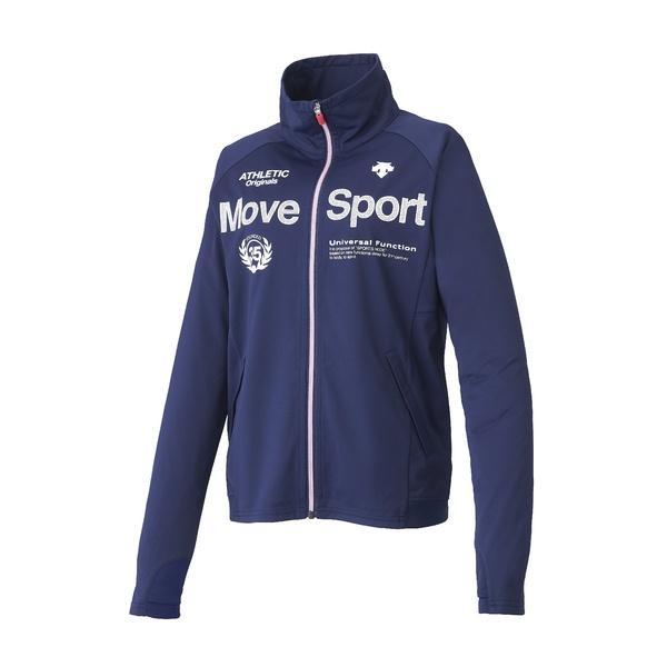 (セール)(送料無料)DESCENTE(デサント)レディーススポーツウェア ウォームアップジャケット ドライトランスファー トレーニングジャケット DAT-1780W DNVY レディース DNVY