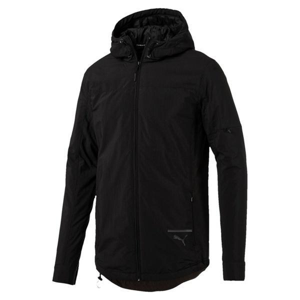 (セール)(送料無料)PUMA(プーマ)メンズスポーツウェア 中綿ジャケット EVO ウーブンジャケット 57488101 メンズ ブラック