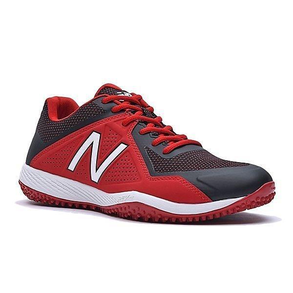 (送料無料)New Balance(ニューバランス)野球 トレーニングシューズ T4040BR4 2E T4040BR4 2E メンズ BLACK/RED