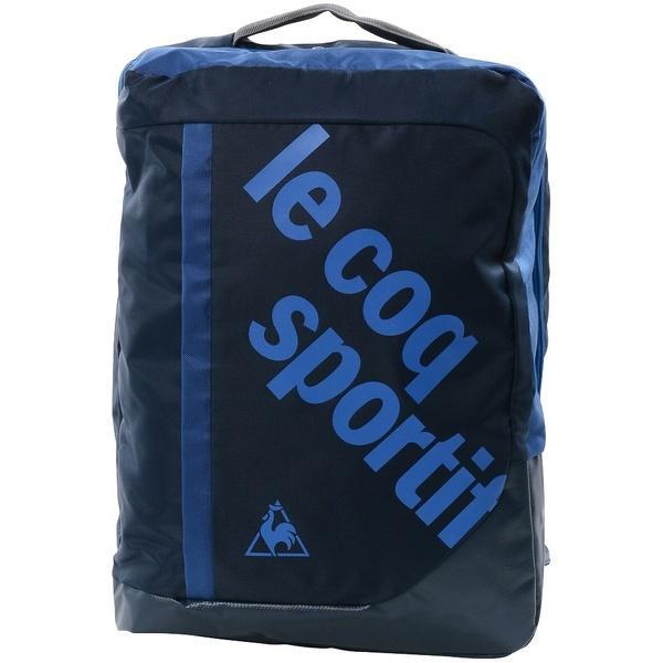 (送料無料)le coq(ルコック)テニス バドミントン ラケットバッグ ケース クローゼットスクエアバックパック QAT640373 NVY F NVY