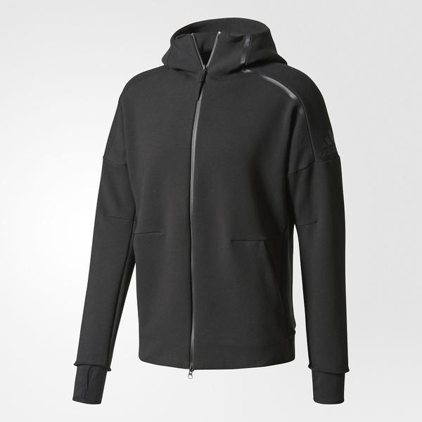 (セール)(送料無料)adidas(アディダス)メンズスポーツウェア スウェットジップアップ M ADIDAS Z.N.E フーディー 2.0 DTU27 BQ6925 メンズ ブラック