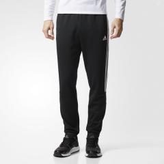 <LOHACO> (セール)adidas(アディダス)メンズスポーツウェア ウォームアップパンツ M ADIDAS 24/7 ウォームアップ テーパードパンツ ECF34 CD9652 メンズ ブラック画像