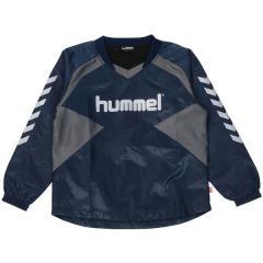(送料無料)hummel(ヒュンメル)サッカー ジュニアその他アパレル ジュニア上下セット+手袋 HJW4107SPMG_70 ジュニア ネイビー