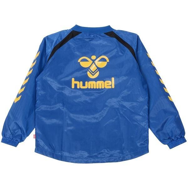 (送料無料)hummel(ヒュンメル)サッカー ジュニアその他アパレル ジュニア上下セット+手袋 HJW4107SPMG_63 ジュニア ロイヤルブルー