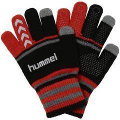hummel(ヒュンメル)サッカー アパレルアクセサリー マジックグローブ HFA3040_9020 F ブラックxレッド