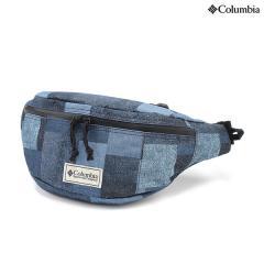 (セール)Columbia(コロンビア)トレッキング アウトドア サブバッグ ポーチ プライスストリームヒップバッグ PU8083-429 O/S COLUMBIA NAVY PATCHWORK